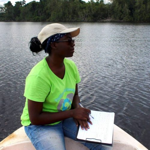 Christy-Achtone Nkollo Kema Kema, Student - African Aquatic Conservation Fund